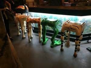 Rainforest Cafe Bar Stools The Animal Leg Bar Stools Picture Of Rainforest