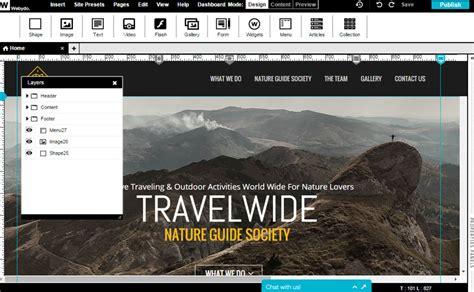 web design software free website builder software free