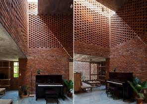 room house a creative brick house controls the interior climate and