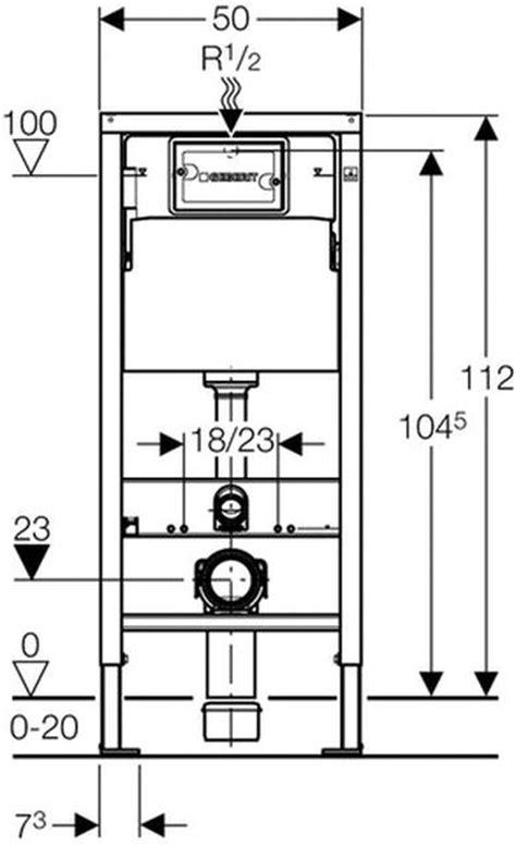 geberit gestell geberit duofix basic up wc vorwandelement 112 cm mit up100
