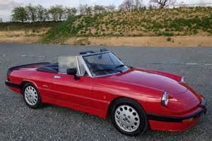 Alfa Romeo Spider 1989 1989 Alfa Romeo Spider For Sale Classic Cars For Sale Uk