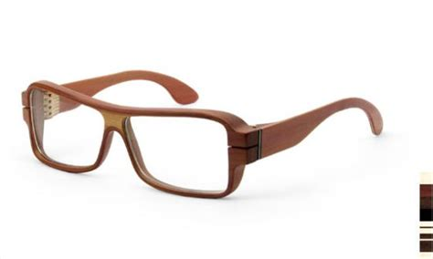 wooden eyeglasses make your own fashion statement