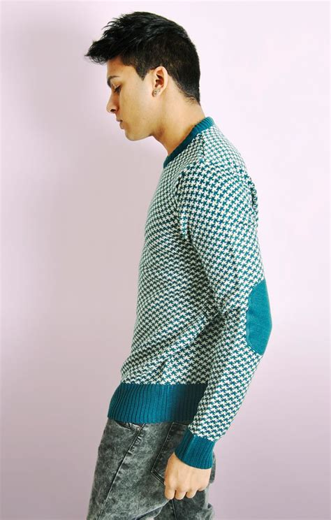 houndstooth pattern jumper houndstooth pattern knitted jumper