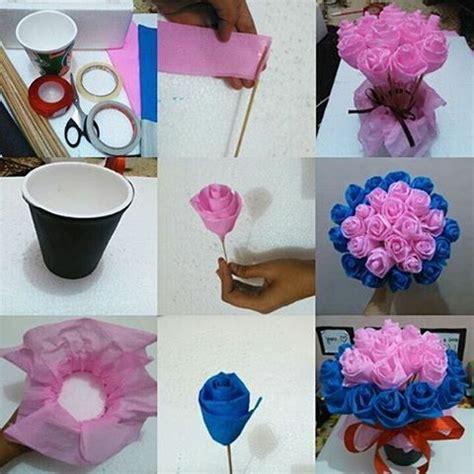 tutorial cara membungkus buket bunga diy indonesia diy id instagram photos and videos