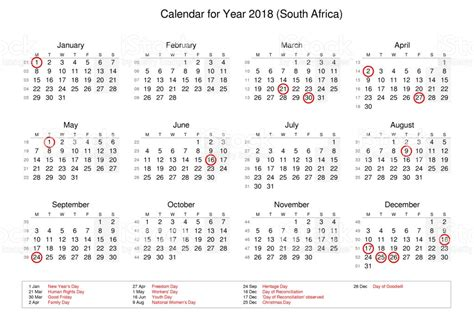 2018 Calendar With Bank Holidays Calendar Of Year 2018 With Holidays And Bank