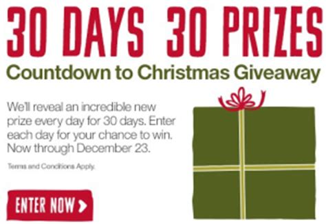 Crate And Barrel Sweepstakes - the crate and barrel countdown to christmas giveaway