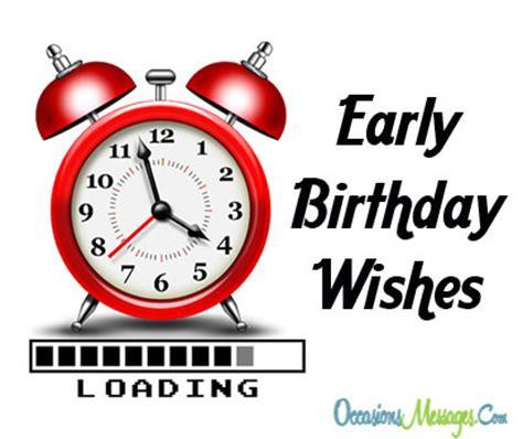 Sle Happy Birthday Wishes Happy Birthday In Advance Early Birthday Wishes