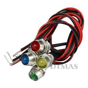 Car Led Indicator Bulbs 5 Led Indicator Light L Pilot Dash Directional Car