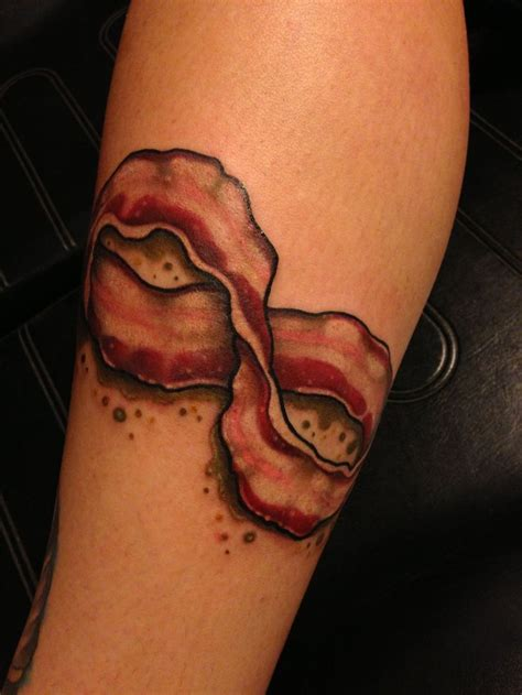 infinity tattoo elkins wv bacon forever tattooed by noelle lamonica at the velvet