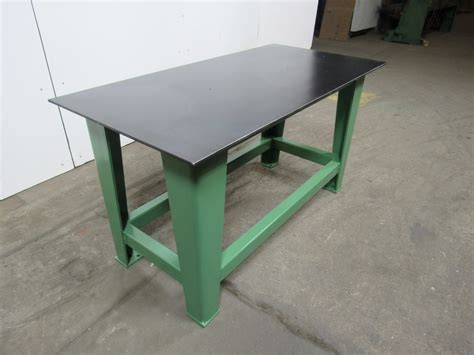 welding bench top steel welding work bench assembly layout table 60 quot x 30 quot 3