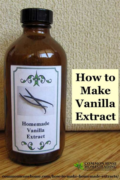 how to make vanilla extract recipe dishmaps