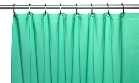 8 shower curtain carnation home fashions inc 8 gauge vinyl shower