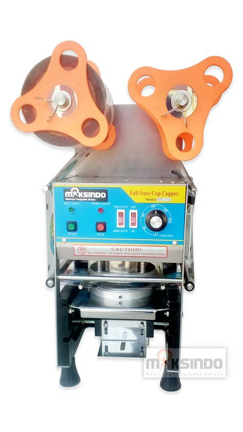 Cup Stainless Ayakan Tepung jual mesin cup sealer otomatis cps 11a di blitar toko mesin maksindo blitar toko