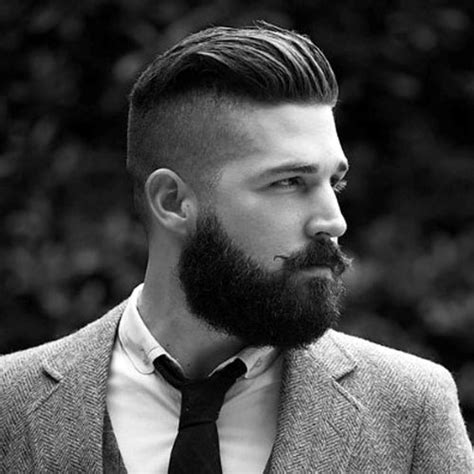 Hairstyles With Beard by Manly Haircuts And Beards