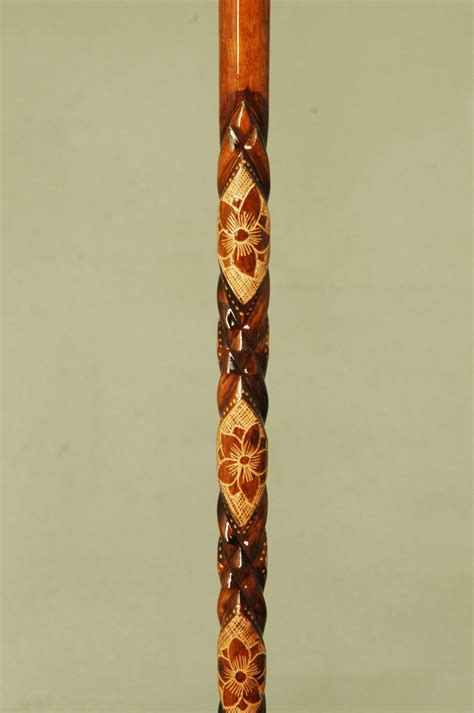 Handmade Wooden Canes - g箘ft handmade special unique turkish wooden walking stick