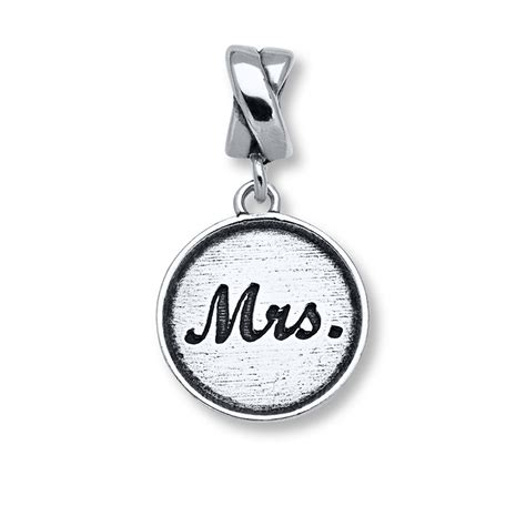 charmed memories mrs charm sterling silver