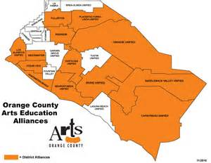 california school district map arts orange county the countywide nonprofit arts