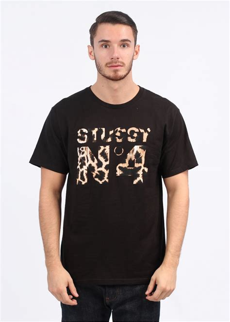 T Shirt Stussy N4 Harmony Merch stussy giraffe n4 t shirt black