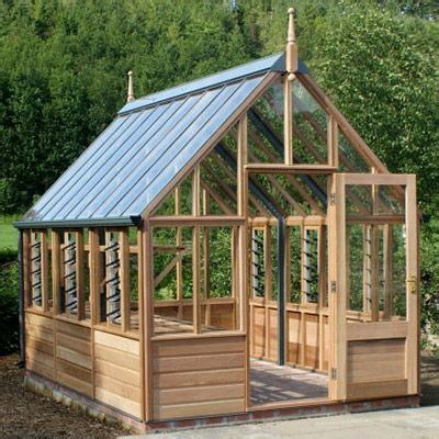 gabriel ash wisley series greenhouse wooden greenhouses