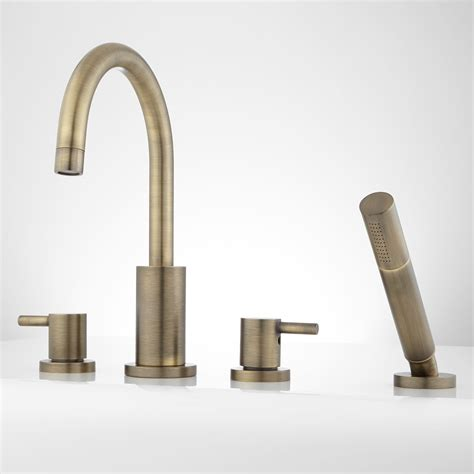 bathtub faucets with handheld shower tub faucet benkei tub faucet and hand shower kokols