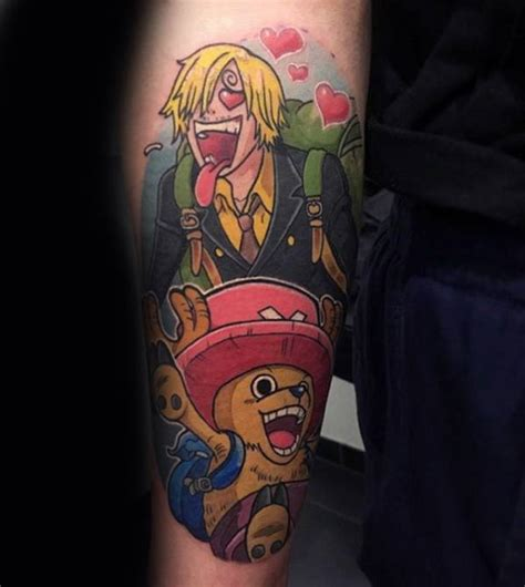one piece themed tattoo 70 one piece tattoo designs for men japanese anime ink ideas