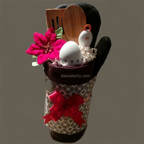 unique kitchen gift ideas brown egg gift basket basketality