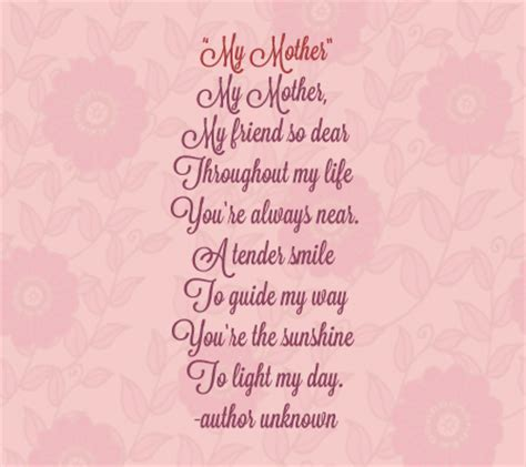 a biography about my mother 15 sweet funny and touching poems for and about moms