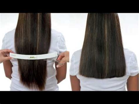 how to cut hair straight across in back how to cut one length tutorial straight or texturized