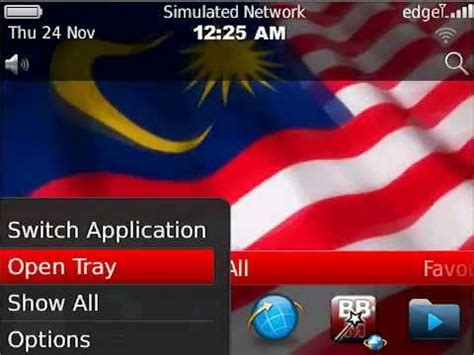 live themes for blackberry malaysia flag live wallpaper theme for blackberry 174 youtube