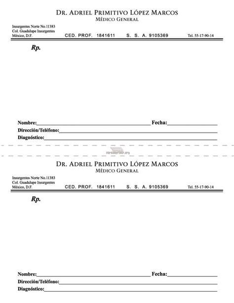 Imagenes De Recetas Medicas Para Imprimir | receta medica para imprimir