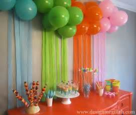 Home Decor For Birthday Parties by The Art Birthday Party Best Of Interior Design