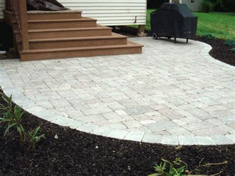 landscape paver ideas concrete paver patio prices best