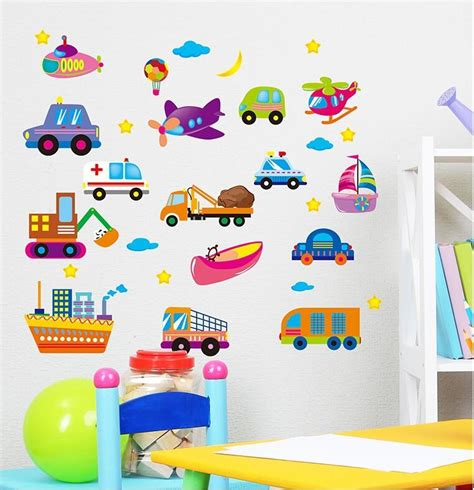 removable wall stickers for kids bedrooms boys love cool car beautiful cool wall sticker for kids