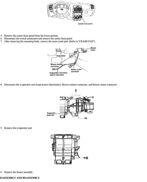 repair voice data communications 1993 hyundai sonata instrument cluster service manual 2010 hyundai sonata heater core replacement heater core replacement rio5 2006
