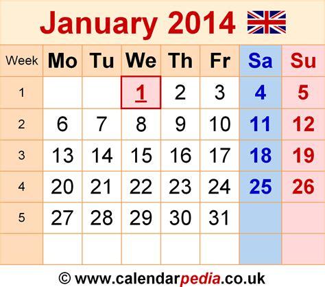 calendar january 2014 uk bank holidays excel pdf word