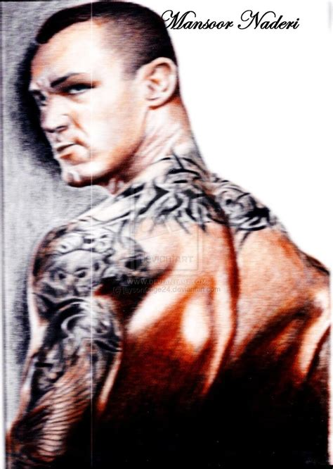 randy orton tribal tattoo randy orton the viper by jaysoncage24 on deviantart