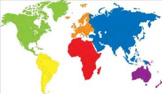 color world map simple color world map vector 02 vector maps free