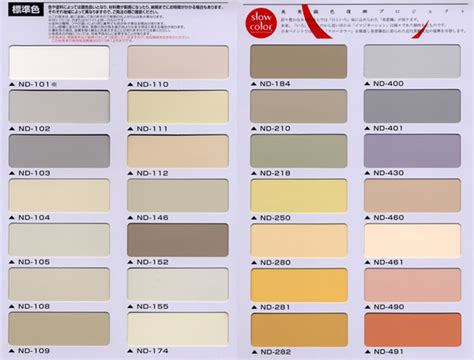 pin standard paint colors on