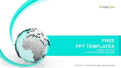 powerpoint templates free computer earth printed circuit board computer ppt templates
