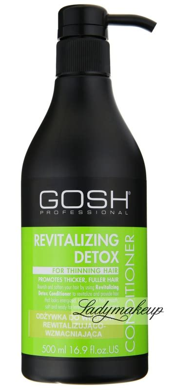 Detox Cleansing And Revitalizing Tea by Gosh Revitalizing Detox Conditioner Shop 66 99 Zł