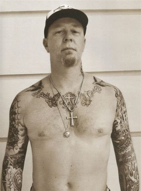 james hetfield tattoos metallica hetfield metclub prague