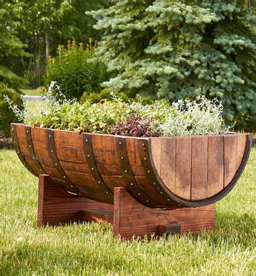 Upright Planter by Vertical Planter Buffalo Barrel Company