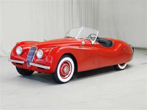 jaguar 1950 xk120 the top 10 luxury cars of the 1950s