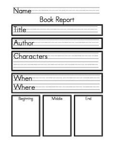 Book Report Template For 2nd Grade by 30 Images Of 4th Grade Book Review Template Leseriail