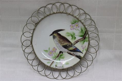decorative wall hanging plate painted in japan