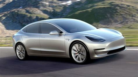 Tesla Fastest Electric Car Tesla 3 Unveiled Electric Car With 322 Km Range Priced At