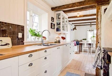 cocinas con encimera de madera de 30 fotos de decoraci 243 n de cocinas blancas modernas