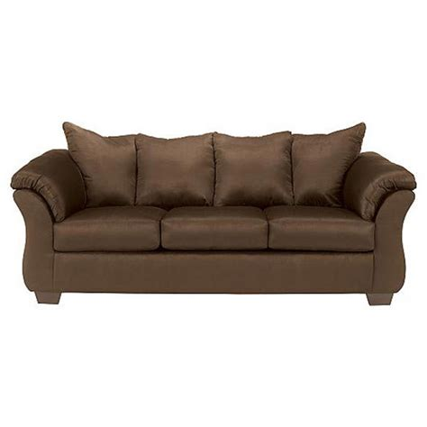 ashley couch darcy full sleeper sofa cafe