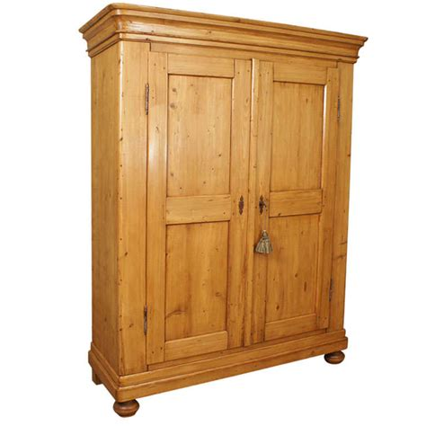 pine armoire furniture pine armoire at 1stdibs