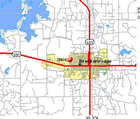 breckenridge texas map 76424 zip code breckenridge texas profile homes apartments schools population income